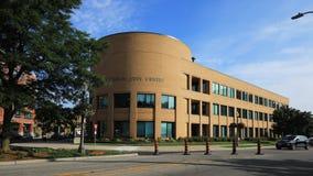 Timelapse Waterloo centrum administracyjno-kulturalne w Ontario, Kanada 4K zbiory