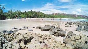 Timelapse wideo przy Praia De Coqueirinho zbiory wideo
