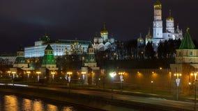 Timelapse widok przy Kremlin zdjęcie wideo
