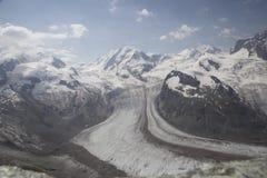 Timelapse in Zermatt stock footage