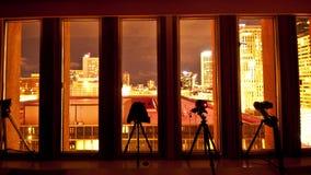Timelapsefotograaf op het Werk stock videobeelden