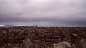 Timelapss de la salida del sol de Kapadokya metrajes