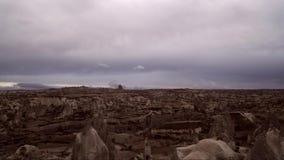Timelapss di alba di Kapadokya stock footage