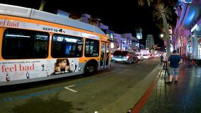 Timeleaps de Los Angeles sur le bld de Hollywood