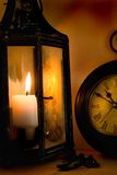 Timeless. Antique lantern Illumination royalty free stock photography