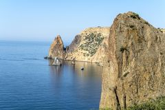 Cape Fiolent. Crimea. Royalty Free Stock Image