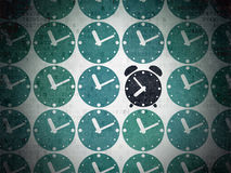 Timeline concept: alarm clock icon on Digital Stock Images
