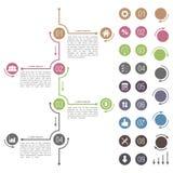 Timeline Design Stock Photography