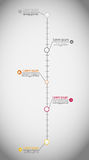 Timeline infographic business template vector Stock Photo