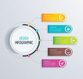 Timeline infographic design vector and marketing icons.Can be us Stock Images