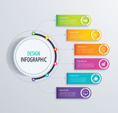 Timeline infographic design vector and marketing icons.Can be us Stock Photography