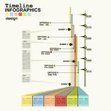 Timeline Infographic Stock Photos