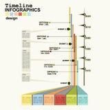 Timeline Infographic Stock Photos