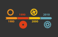 Timeline Infographic Template for Business Vector Stock Images