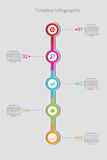 Timeline Infographic. Vector template. Vector. Stock Photo