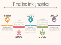 Timeline Infographics Stock Photos