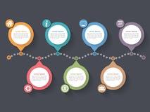 Timeline Infographics Stock Photo