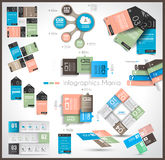 Timeline and  Infographics design templates Stock Photos