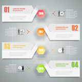 Timeline infographics design. Vector illustration. Royalty Free Stock Photo