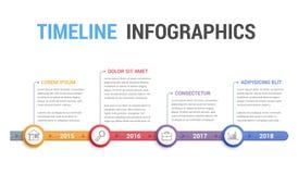 Timeline Infographics Stock Photos