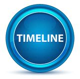 Timeline Eyeball Blue Round Button stock illustration