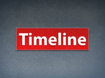 Timeline Red Banner Abstract Background vector illustration