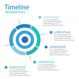 Timeline layout business. Timeline Target icon color. Timeline layout business. Timeline Target template. Timeline Target icon best. on white background. n royalty free illustration