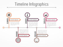 Timeline Template Royalty Free Stock Photos