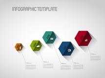 Timeline template Stock Photos