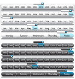 Timeline Years. An image representing timeline of years Royalty Free Stock Photo