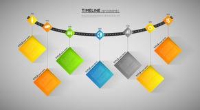Timelinemall Royaltyfri Fotografi