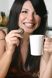 Timeout With Coffee And Chocolate Royalty Free Stock Photos