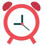 Timepiece Isolated Color Vector Icon royalty free stock photo