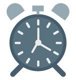 Timepiece Kleurenvector Geïsoleerd Pictogram Editable vector illustratie