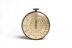 Timer. On a white background Royalty Free Stock Photos