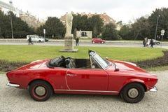 Timer-Auto Spinne TheFiat 124 altes Lizenzfreies Stockfoto