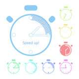 Timer clock Royalty Free Stock Photos