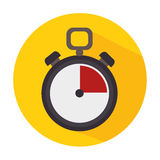 Timer clock icon Royalty Free Stock Images