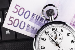 Timer Closeup Royalty Free Stock Images