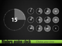 Timer collection Stock Image