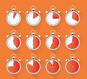 Timer collection Royalty Free Stock Images