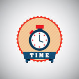 Timer design Royalty Free Stock Photo