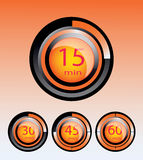 timer display vector illustration Stock Photo