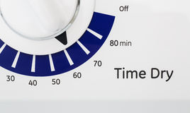 Timer on Dryer Royalty Free Stock Images