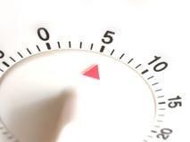 Timer eingestellt mit fünf Minuten Lizenzfreies Stockbild