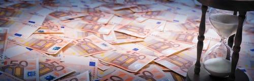 Timer euro - loan concept Stock Photo