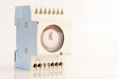 Timer für elektrischen Strom Stockbild