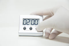 Timer laboratory equipmen Royalty Free Stock Photo