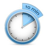 Timer - 10 minutes Royalty Free Stock Image