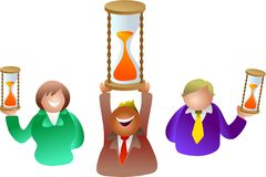 Timer people Stock Images
